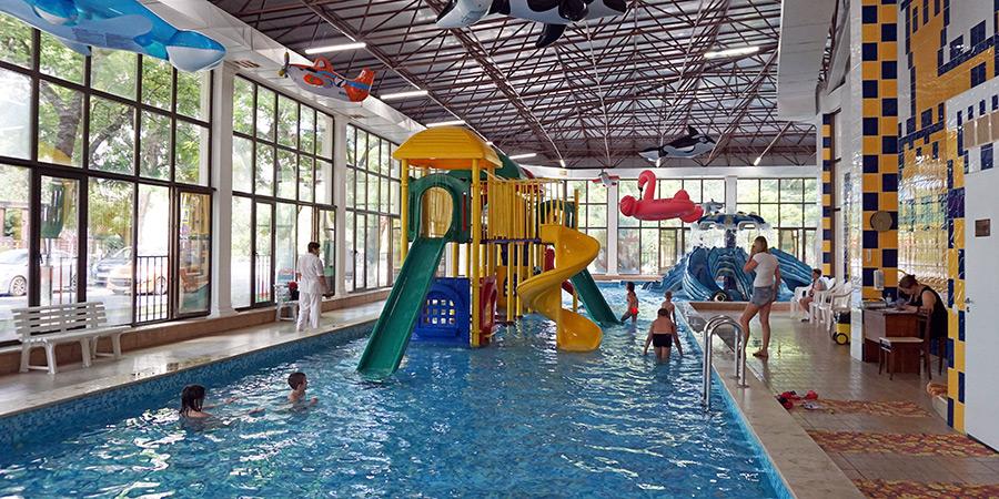 Мини аквапарк Осьминожка в Анапе