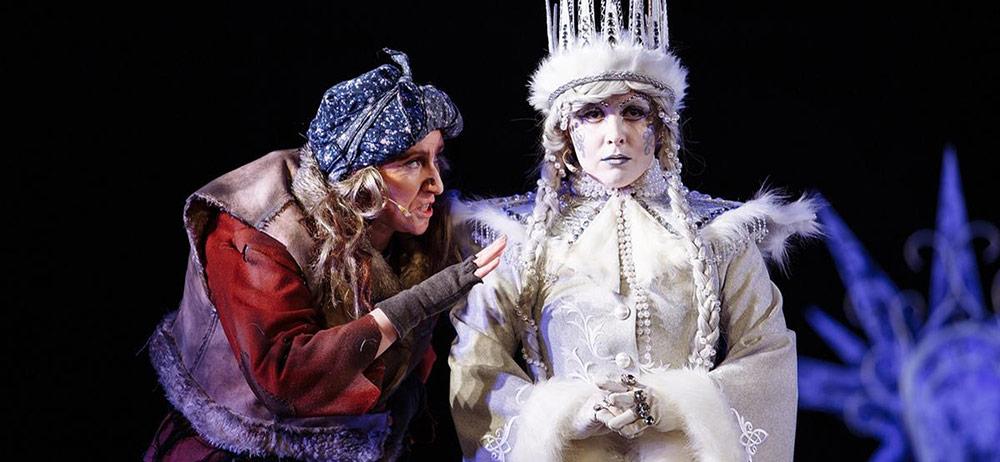 Как у Зимы Лютой сердце появилось спектакль новогодний театр Свободное пространство